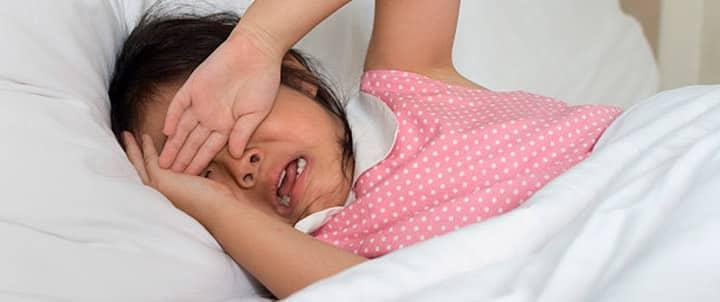 Terrores nocturnos en los niños