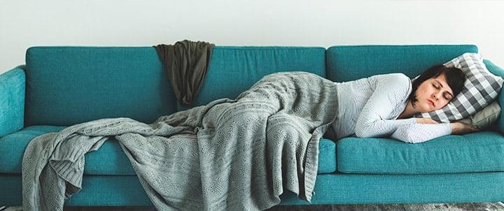No más sofá para las visitas, ahora usa camas nido.